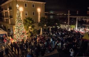 Foto Luigi Opatija, Milenij hoteli, Christmas Tree Lighting 2016