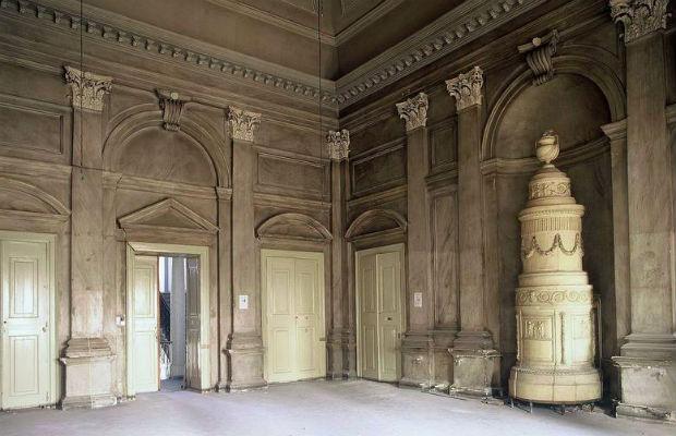 Upravna zgrada – soba s kaminom