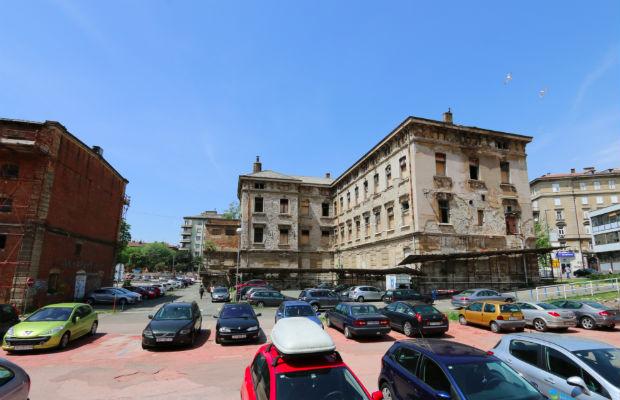 T-objekt zgrada buduće knjižžnice u kompleksu Benčić