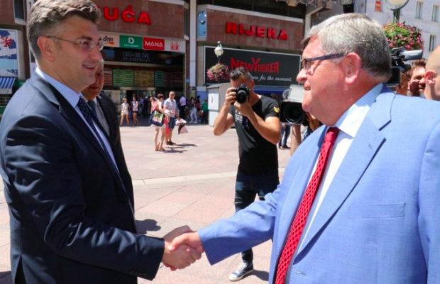 Premijer Plenković posjetio Rijeku – Fiuman.hr