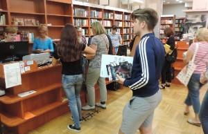 Upisivanje u Gradsku knjižnicu Rijeka