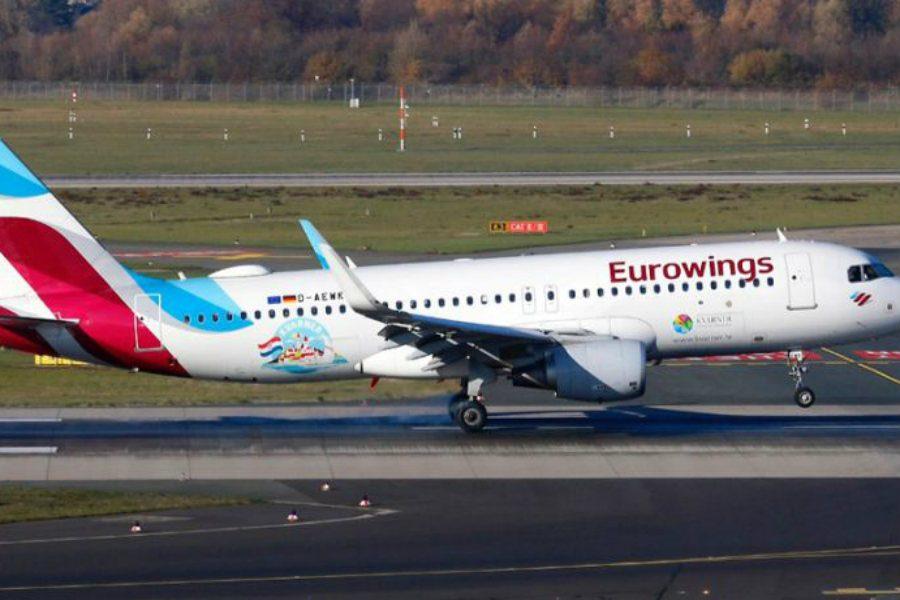 Zrakoplov Eurowingsa nosi reklamu Kvarnera