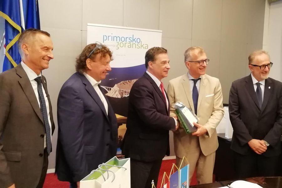 Delegacija Autonomne regije Friuli Venezia Giulia stigla u službeni posjet PGŽ