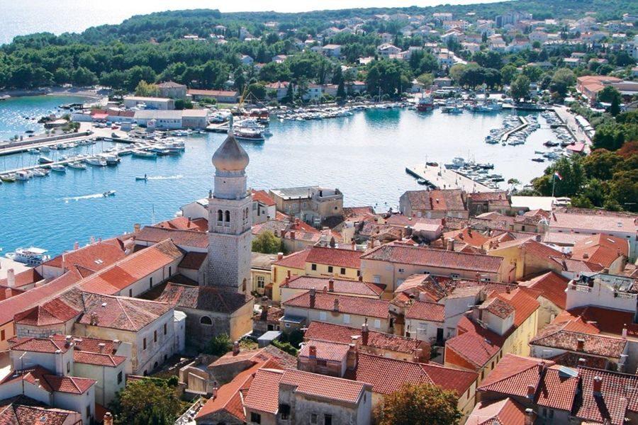 Krk je ponovno najbolji mali grad za život u Hrvatskoj