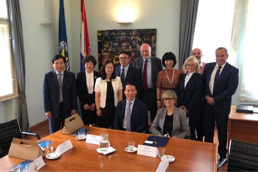 Potpisani sporazumi o suradnji s Centrom za medicinske znanosti Sveučilišta u Pekingu
