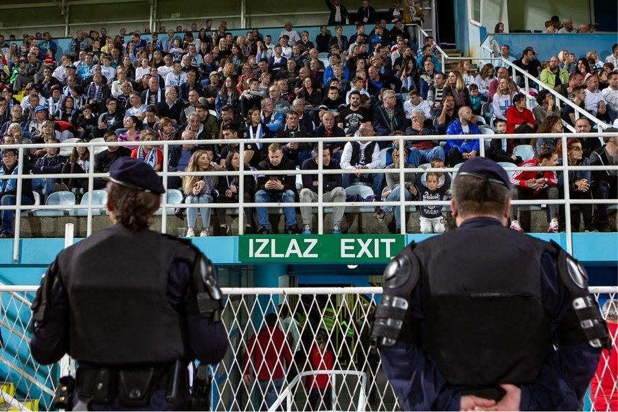 12 osoba privedeno tijekom utakmice na Kantridi