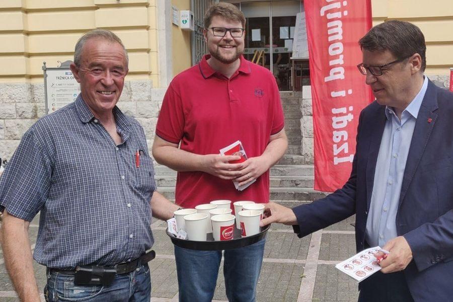 Grbin nakon velikog slavlja u 8. jedinici najavio pohod na predsjedničku funkciju u SDP-u