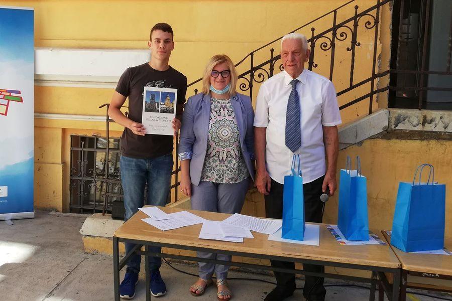 Nagrade najuspješnijim maturantima u PRHG, Tomas Kurbanović – učenik generacije 2019./2020